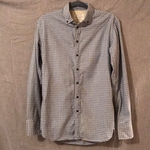 Rag & Bone Workwear Long Sleeve Shirt SZ S EUC